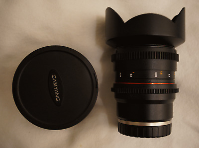 Samyang 14Mm T/3,1 F2.8 E-Mount Sony