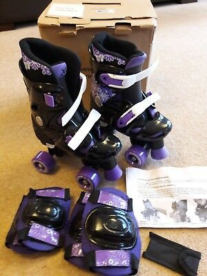 Girls Roller Skates Excellent Condition Adjustable Size 13 to 3