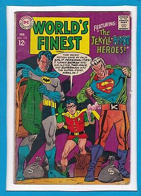 World's Finest #173_February 1968_Very Good_Superman_Batman_Silver Age Dc!