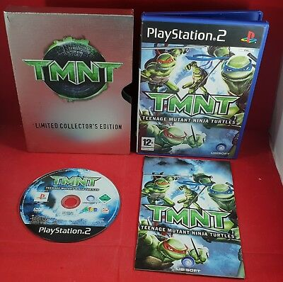 TMNT Limited Collectors Edition Sony Playstation 2 Ultra RARE