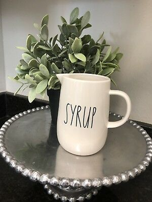 Rae Dunn Small SYRUP Pitcher