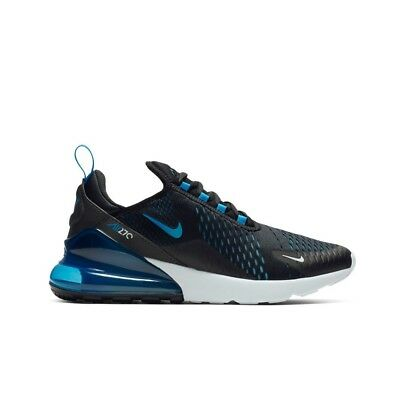 Nike Air Max 270 (Black/Photo Blue-Blue Fury-Pure) Men's Shoes AH8050-019