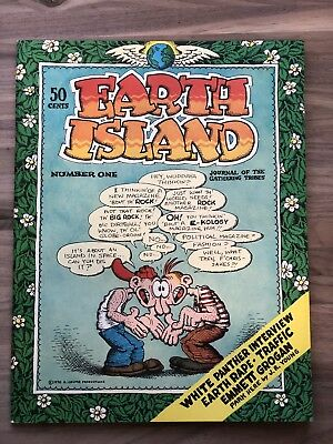 Earth Island #1 First Edition 1970 fine with R. Crumb Cover, Janis Joplin et al