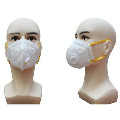 Cotton PM2.5 Anti Haze Mask Breath Valve Anti-dust Activated carbon Mouth Mask T