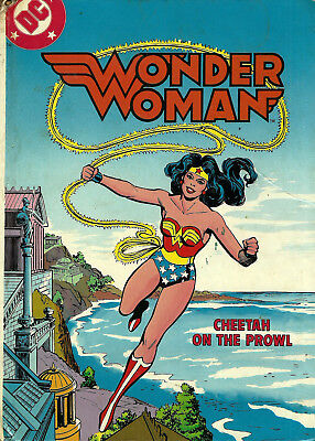 Wonder Woman : Cheetah on the Prowl ( DC | Fisher-Price | 1982 | No Tape | HB )