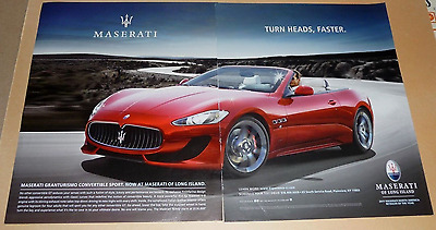 Maserati Granturismo Sports Car Advertisement - 2013