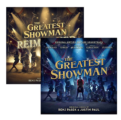 The Greatest Showman & Greatest Showman Reimagined (2018) 2CD Soundtrack Albums