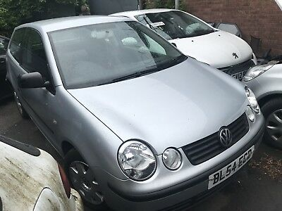 Volkswagen Polo 1.4 Silver 75 BHP Petrol Breaking Spares For Parts ALL AVAILABLE
