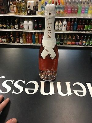 Moet & Chandon x Off White Limited Nectar Imperial Rose Virgil Abloh