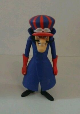 .99 Cent Moving Sale Hanna Barbera Wacky Races Action  Figure Dick Dastardly!!