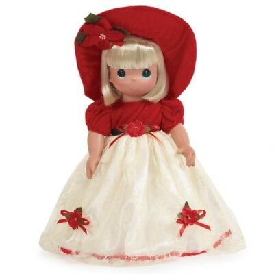 Precious Moments 16 Inch Doll, Most Wonderful Time Of The Year - Blonde, 1226