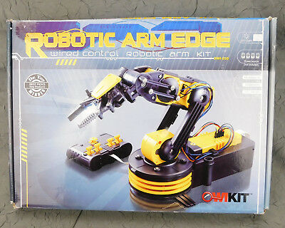 Robotic Arm Edge Wired Control Robotic Arm Kit OWI-535 Part Bags Sealed NEW