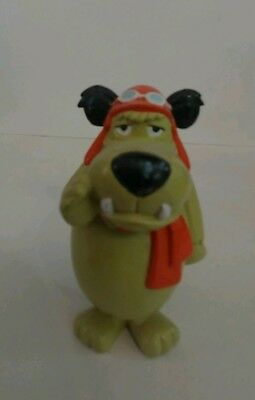 .99 Cent Moving Sale Hanna Barbera Wacky Races Mutley Pvc Figure Rare Dastardly