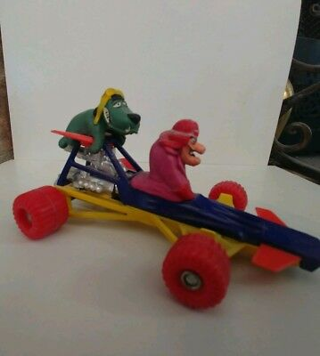 .99 Cent Moving Sale Hanna Barbera Wacky Races Dick Dastardly & Muttley Car