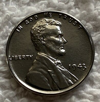1943-P Steel Lincoln Cent In Choice Gem Bu From Obw Roll Wow Look