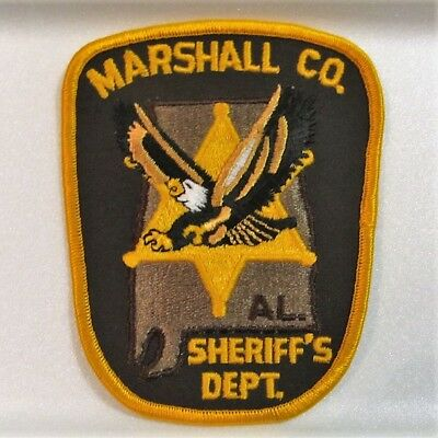 Marshall County, Alabama, Sheriff's Department patch - new embroidered patch