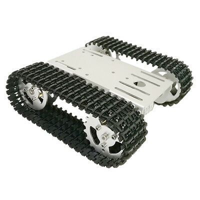 RC WiFi Robot Tank Crawler Chassis For Arduino Smart Car with Code Wheel