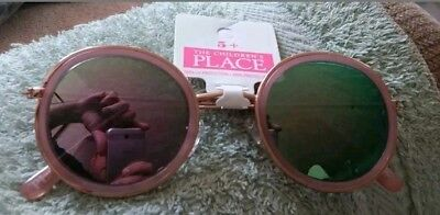 Nwt The Children's Place Girls Age 5+ Rose Gold Sunglasses