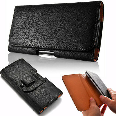For Samsung NOTE 9 NOTE 8 / S8+ S9 Plus Leather Case Pouch Bag Belt Clip Holster