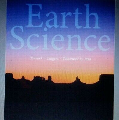 Earth Science 14th Edition by Tarbuck and Lutgens