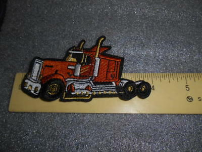 Truck Tractor  Iron on Patch