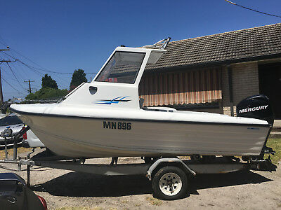Swift craft sea runner 15ft with hardtop