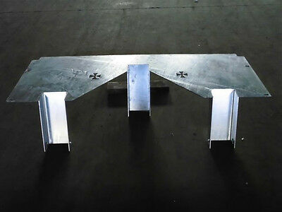 Motorbike Trailer Insert, Dirt Bike, Road Bike, Suit 5' wide trailer, Galvanised