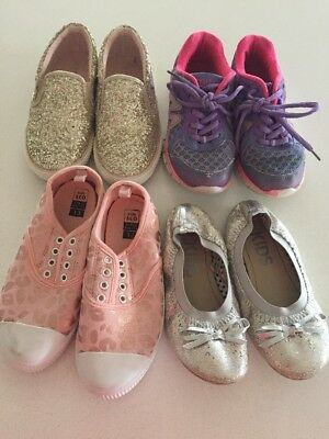 Like New Excellent Condition Girls Size 13 Shoes Bulk Lot X 4. Joggers, Ballet