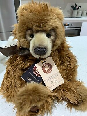 Kojak by Charlie Bears part of 2016 Collectors Club