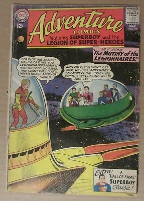 Adventure Comics #318 (1964, DC) 3.0...Superboy and the legion of Super-Heroes
