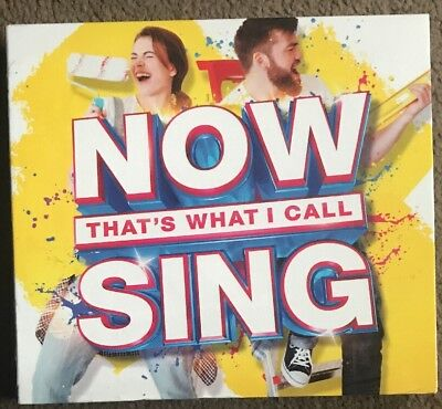 Now That's What I Call Sing - Various Artists new and sealed