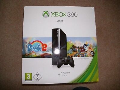 Box for Xbox 360 4GB  featuring Peggle2 design