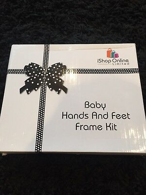 Baby Hands And Feet Frame Kit New
