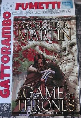 "George r.r. Martin ""A Game of Thrones"" n.1 anno 2011 - Italycomics magazzino"