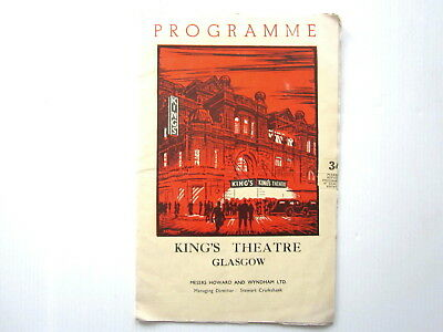 Vintage,  King's Theatre Glasgow, Play Programme.