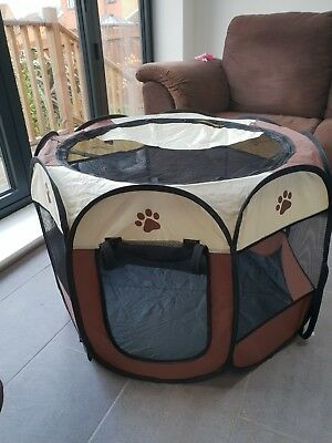 Portable Foldable Puppy Play Pen