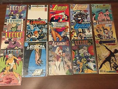 LEGION OF SUPERHEROES Comics DC Comics  by DC Copper age   067