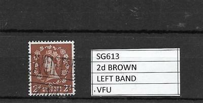 1960 QEII WILDING DEFINITIVES - STUNNING FULL PERF EXAMPLE OF SG613 2d LEFT PHOS