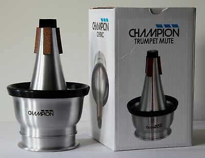 Champion Trumpet/Cornet Cup Mute -adjustable -New