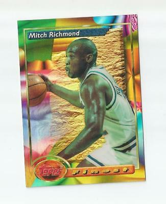 Mitch Richmond 1993-94 Topps Finest Refractor #179 Kings Rare Sp