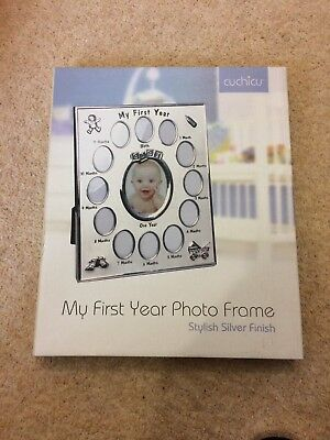 My First Year Photo Frame. Brand New