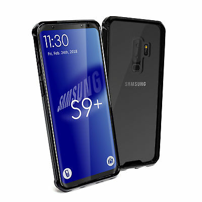 TUFF LUV Shockproof Armour Protective Back Case for Samsung S9+ Plus - Clear