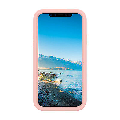 TUFF LUV Armour Guard TPU Shell Case for Apple iPhone XS Max - Rose Gold
