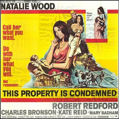 RARE 16mm Feature: THIS PROPERTY IS CONDEMNED (NATALIE WOOD / ROBERT REDFORD)
