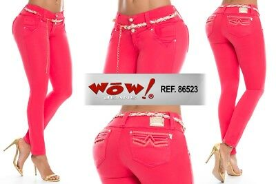 9a50e4d8cc89 Wow Jeans Colombianos Authentic Colombian Push Up Jeans Levanta Cola Butt  Lift