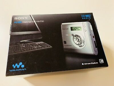 Sony MiniDisc Hi-MD Recorder MZ-NH700 blau/blue
