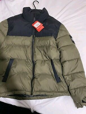 beste Auswahl an Bestbewertete Mode klassisch THE NORTH FACE 1992 Nuptse Jacket - Olive XL (fits like L ...