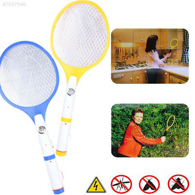 418D LED Rechargeable Electric Swatter Insect Bug Bat Wasp Zapper Mosquito