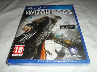 Watch Dogs - PS4 game - Brand New and Sealed