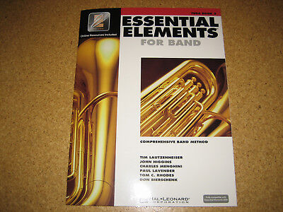 """Tuba Schule """"Essential Elements"""" for Band, Tuba Book 2 (in Englisch)"""